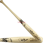 Larry Walker Autographed Louisville Slugger Game Model Bat Inscribed HOF 20