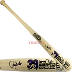 Larry Walker Autographed Cooperstown Commemorative Limited Edition Bat
