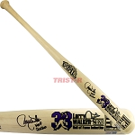 Larry Walker Autographed Cooperstown Commemorative Limited Edition Bat Inscribed HOF 20