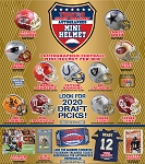 TRISTAR Hidden Treasures Autographed Mini Helmet - Gold Box (1 Box)