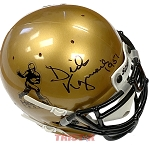 Dick Kazmaier Autographed Heisman Trophy Mini Helmet Inscribed 1951