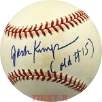 Jack Kemp Autographed National League Baseball Inscribed Old #15