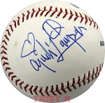 Cyndi Lauper Autographed Major League Baseball