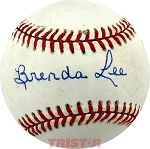 Brenda Lee Autographed Major League Baseball