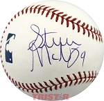 Steve McNair Autographed Major League Baseball Inscribed 9