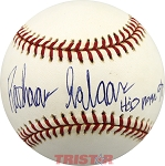 Rashaan Salaam Autographed National League Baseball Inscribed Heisman 94