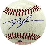 Tyler Skaggs Autographed Official MiLB Southern League Baseball