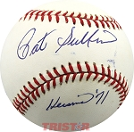 Pat Sullivan Autographed American League Baseball Inscribed Heisman 71