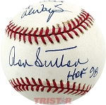 Don Sutton Autographed National League Baseball Inscribed To Chuck My Best Always, HOF 98