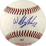 Willy Adames Autographed Official MiLB Southern League Baseball