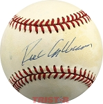 Richie Ashburn Autographed Official National League Baseball