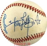Singer, Songwriter Harry Belafonte Autographed Official AL Baseball