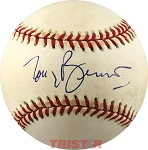 Grammy Winner Tony Bennett Autographed Official NL Baseball