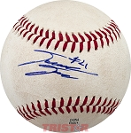David Dahl Autographed Official Southern League Baseball Inscribed #21