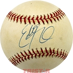 Eddie George Autographed Official National League Baseball