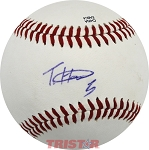 Treon Harris Autographed Official Southern League Baseball Inscribed 5