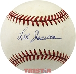 Lee Iacocca Autographed Official National League Baseball