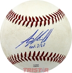 Alex Kirilloff Autographed Southern League Baseball Inscribed Col. 3:23