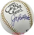 Jake LaMotta Autographed Official Gold Glove Baseball