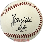 Jeanette Lee Autographed Official Southern League Baseball