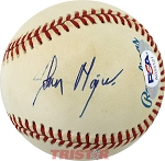 John Major Autographed Official American League Baseball