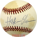Hakeem Olajuwon Autographed Official National League Baseball