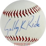 Sally Ride Autographed Grand Slam Official League Baseball