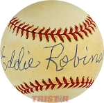 Coach Eddie Robinson Autographed Official National League Baseball