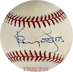 Kenny Rogers Autographed Official National League Baseball