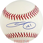 Chris Sale Autographed Official Major League Baseball Inscribed 41