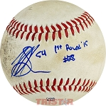 Mike Soroka Autographed Official Southern League Baseball Inscribed 1st Round '15 #28