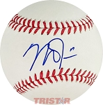 Mike Trout Autographed Official Major League Baseball