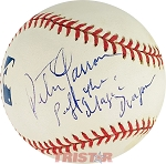 Peter Yarrow Autographed Official ML Baseaball Inscribed Puff the Magic Dragon