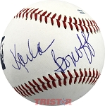 Signer Songwriter Karla Bonoff Autographed Official Southern League Baseball