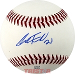 Alex Faedo Autographed Official Southern League Baseball Inscribed 21