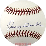 Oscar Gamble Autographed Official Major League Baseball