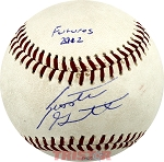 Scooter Gennett Autographed Southern League Baseball Inscribed Futures 2012