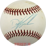 Dwight Gooden Autographed Official National League Baseball