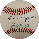 Elvin Hayes Autographed National League Baseball Inscribed HOF 90