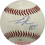 Tee Higgins Autographed Official Major League Baseball Inscribed #5