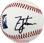 Golfer Zach Johnson Autographed Official Southern League Baseball