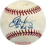 Evan Longoria Autographed Official Major League Baseball Inscribed 1st Rd 06