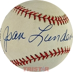 Joan Lunden Autographed Official National League Baseball