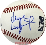 Verne Lundquist Autographed Official Southern League Baseball
