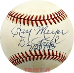 Ray Meyer Autographed Official National League Baseball Inscribed DePaul 1-2-93