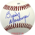 Brent Musburger Autographed Official Southern League Baseball