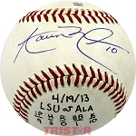 Aaron Nola Autographed Official Southern League Baseball Inscribed 10