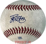 James Paxton Autographed Official Southern League Baseball