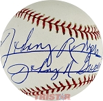 Johnny Rodgers Autographed Official Baseball Inscribed Heisman 72 Johnny Superstar