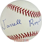 Darrell Royal Autographed Official Major League Baseball